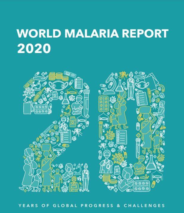 Portada informe mundial sobre el paludismo de la OMS 2020