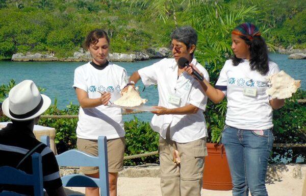 Dalila Aldana Aranda, investigadora del Departamento de Recursos del Mar del Cinvestav Unidad Mérida