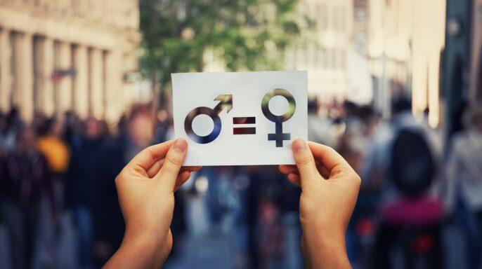 Símbolo igualdad de género