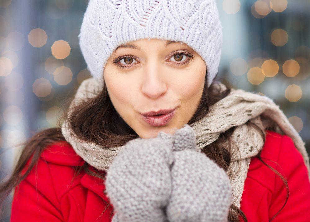 Chica en invierno