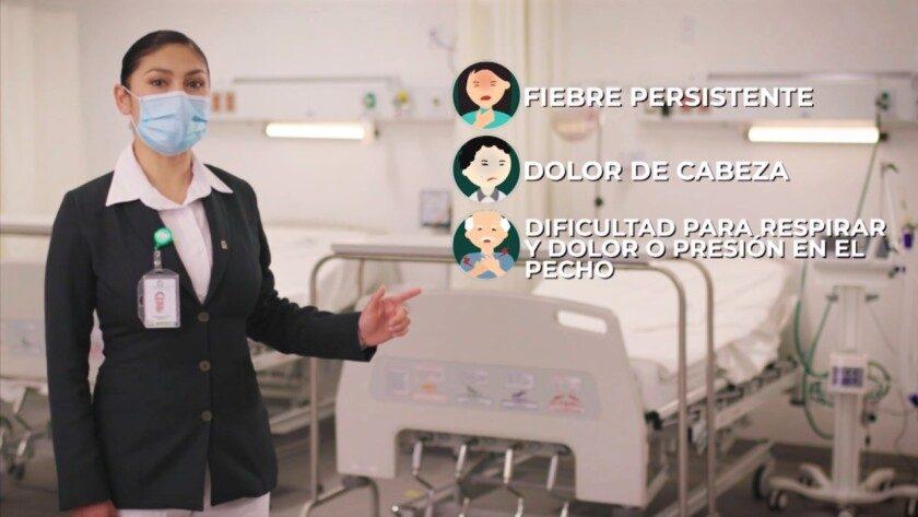 """campaña """"Frente a la COVID-19 más vale PREVENIMSS"""""""