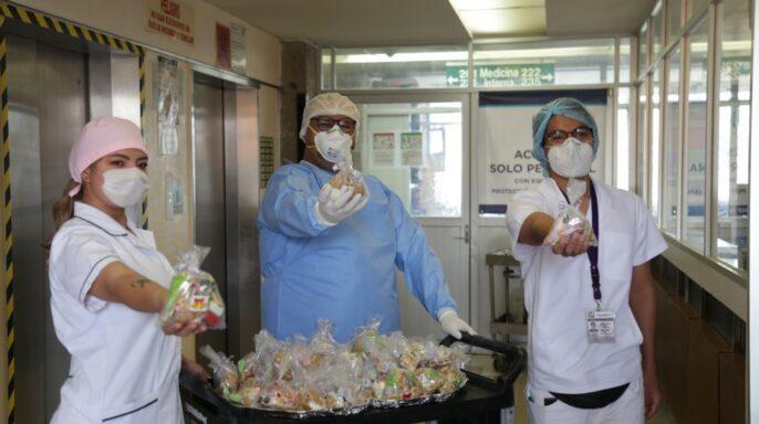 """""""Omarcito"""", manejador de alimentos del HGZ No. 29 de la CDMX"""