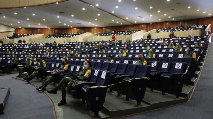 Capacitación impartida en la Unidad de Congresos del Centro Médico Nacional Siglo XXI