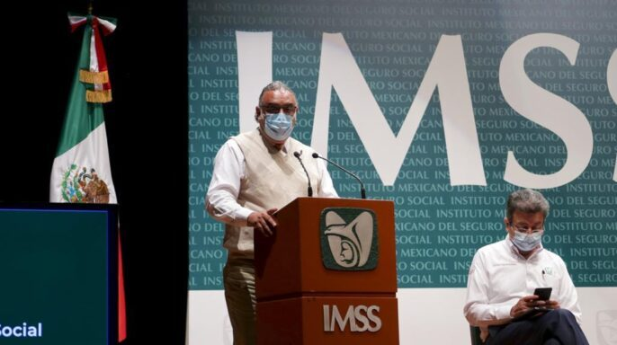 doctor Manuel Cervantes Ocampo, coordinador de Atención Integral a la Salud en el Primer Nivel del IMSS