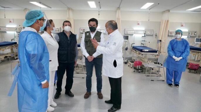 arranque de operaciones del Hospital General Tláhuac del ISSSTE.
