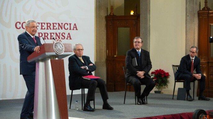 Conferencia de prensa del presidente Andrés Manuel López Obrador del 8 de diciembre de 2020