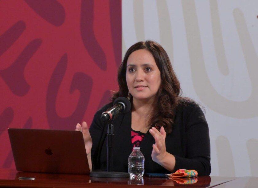 directora general del Centro Nacional para la Prevención y Control del VIH/Sida (Censida), Alethse de la Torre Rosas