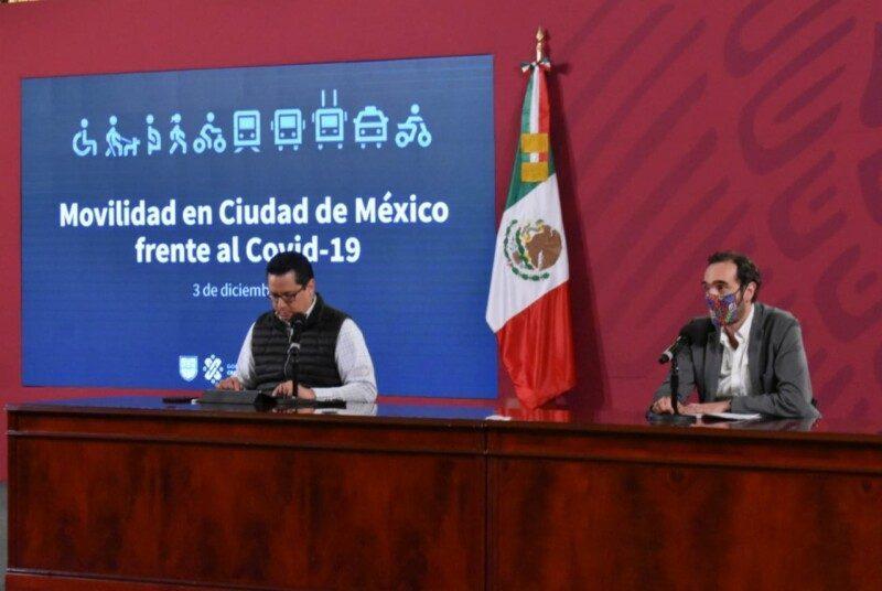 conferencia de prensa diaria sobre COVID-19 en Palacio Nacional