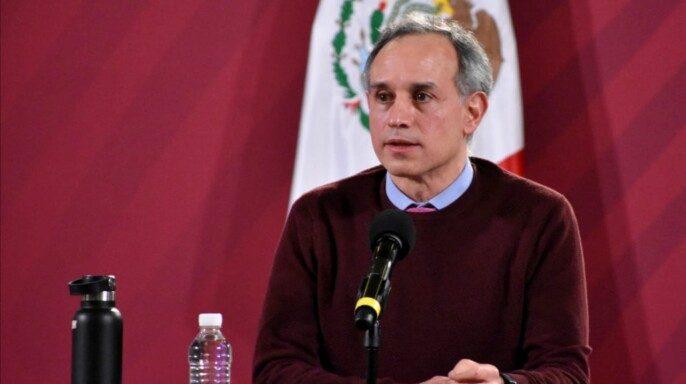 Hugo López-Gatell Ramírez, subsecretario de Prevención y Promoción de la Salud, desde Palacio Nacional