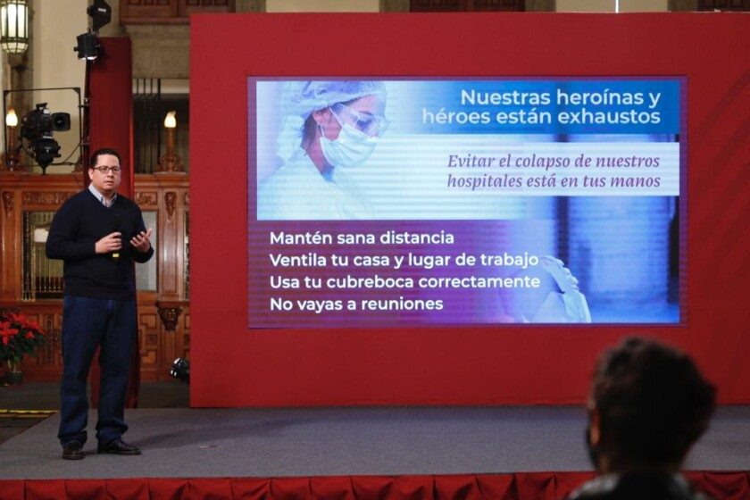 director general de Epidemiología de la Secretaría de Salud, José Luis Alomía Zegarra