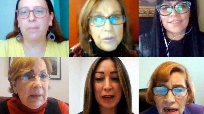 """Foro virtual """"La Perspectiva de género en el caso de mujeres imputadas"""""""