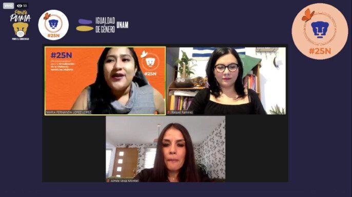 """conversatorio """"Ciberfeminismo contra la violencia machista en las universidades"""""""