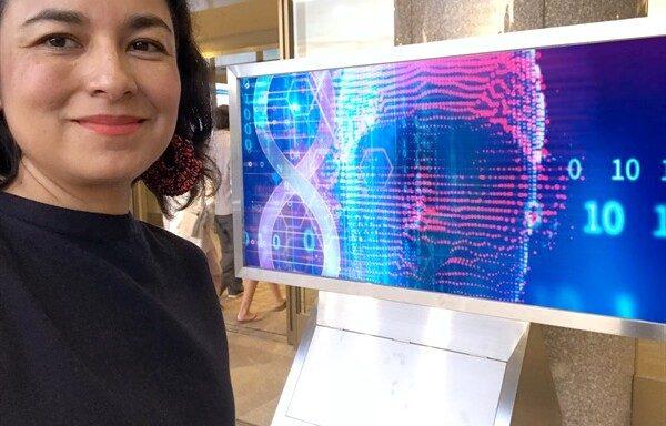 Angélica Cibrián Jaramillo, investigadora de la Unidad de Genómica Avanzada (UGA) del Cinvestav