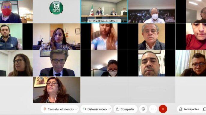 decimoséptima sesión, que fue encabezada por el director general del IMSS