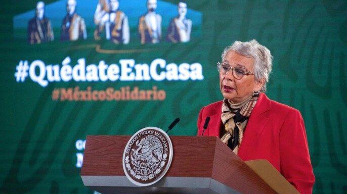 Secretaria de Gobernación, Olga Sánchez Cordero,