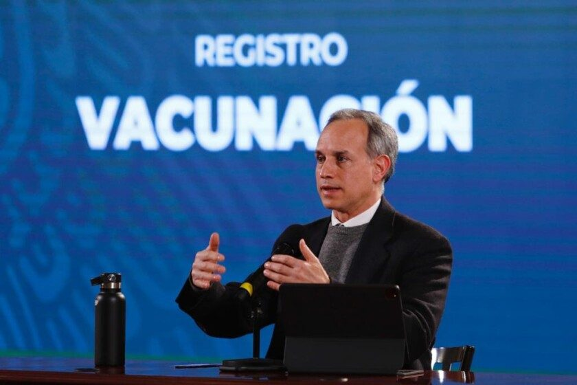 subsecretario de Prevención y Promoción de la Salud, Hugo López-Gatell Ramírez