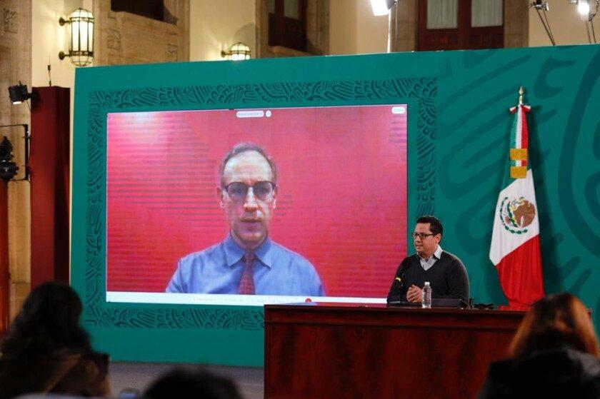 Conferencia de prensa sobre la situación de la pandemia por COVID-19 en México