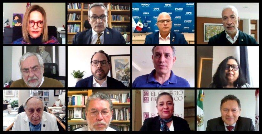 Presentación de Recomendaciones para la atención de la pandemia por COVID-19 en México