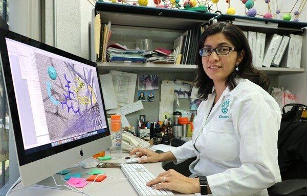 Liliana Quintanar Vera, investigadora del Centro de Investigación y de Estudios Avanzados