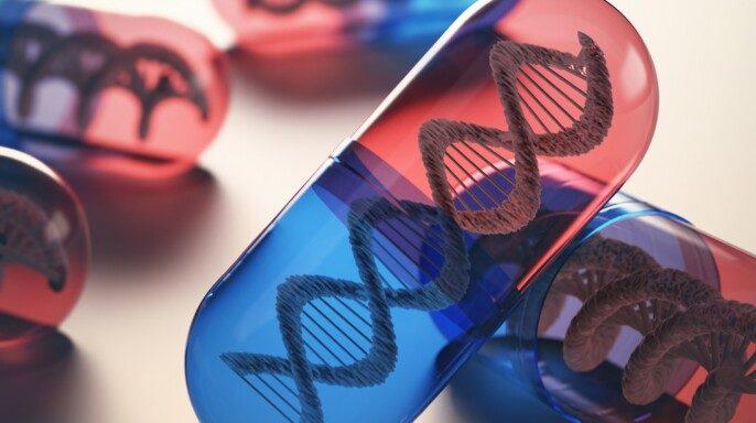 Comprimidos con código genético
