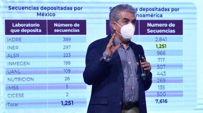 titular de la Unidad de Desarrollo Tecnológico e Investigación Molecular del (Indre), José Ernesto Ramírez González