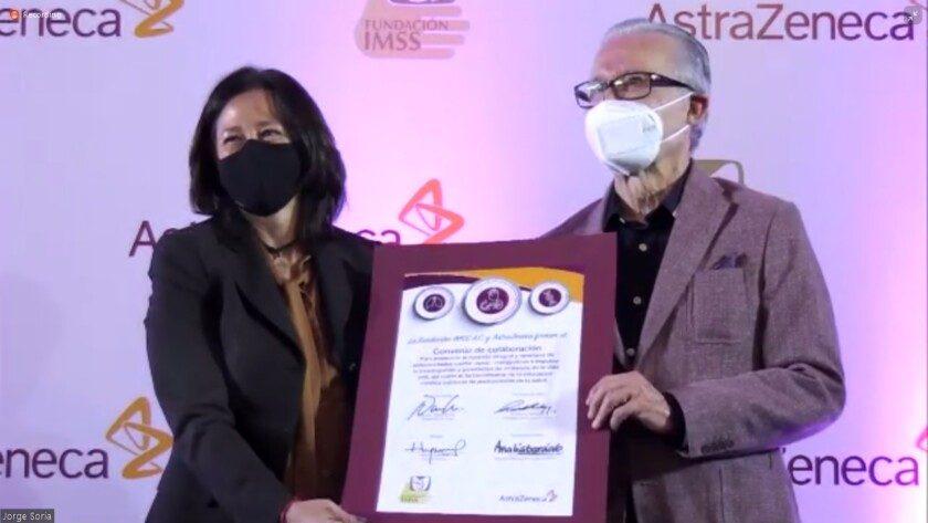 Firman acuerdo de colaboración AstraZeneca y Fundación IMSS en beneficio de personas con diabetes, insuficiencia cardíaca y renal