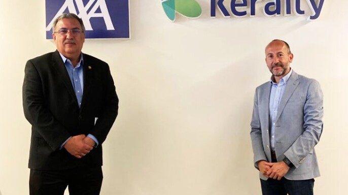 Directivos de AXA Keralty y el Consorcio Mexicano de Hospitales (CMH)