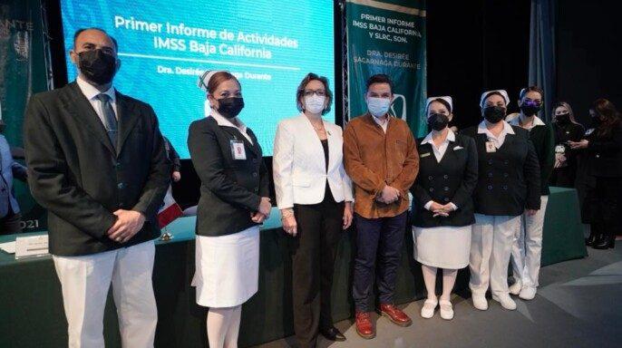 informe realizado en el Teatro del Seguro Social en Tijuana
