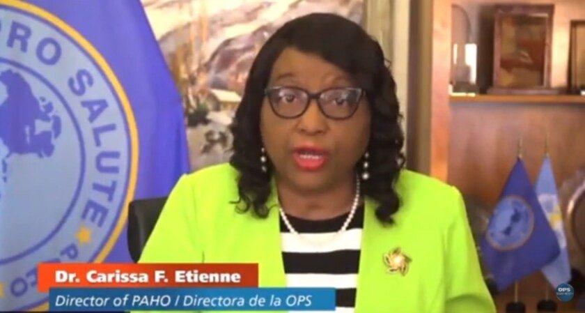 Directora de la OPS, Carissa F. Etienne