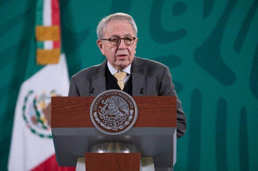 secretario de Salud, Jorge Alcocer Varela