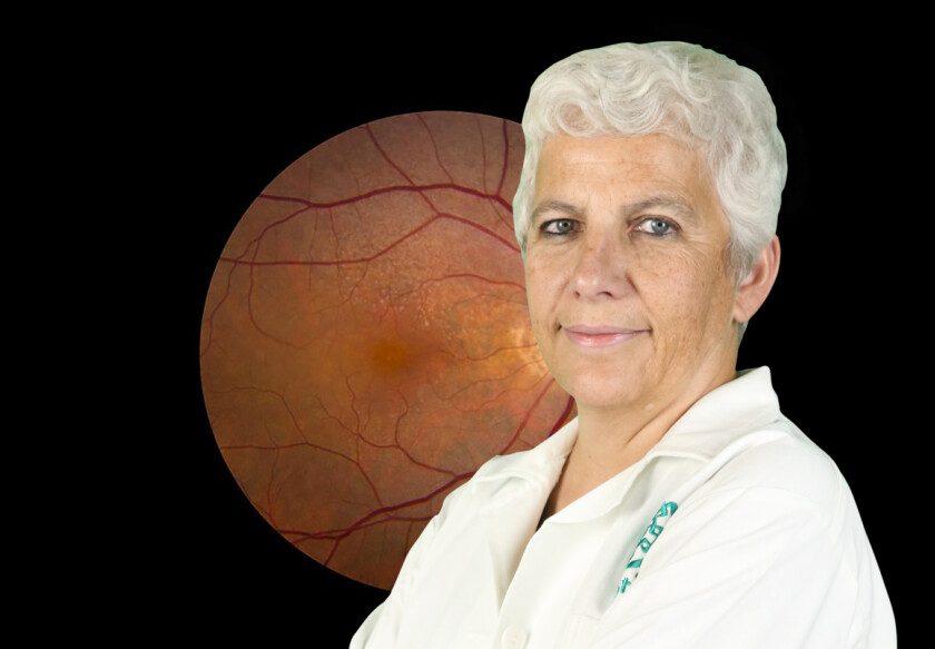 Mónica Lamas Gregori, investigadora del Departamento de Farmacobiología del Cinvestav