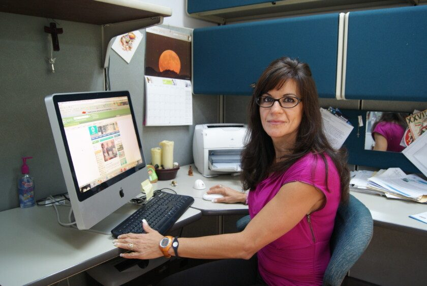 Rosa María del Ángel, del Departamento de Infectómica y Patogénesis Molecular del Cinvestav