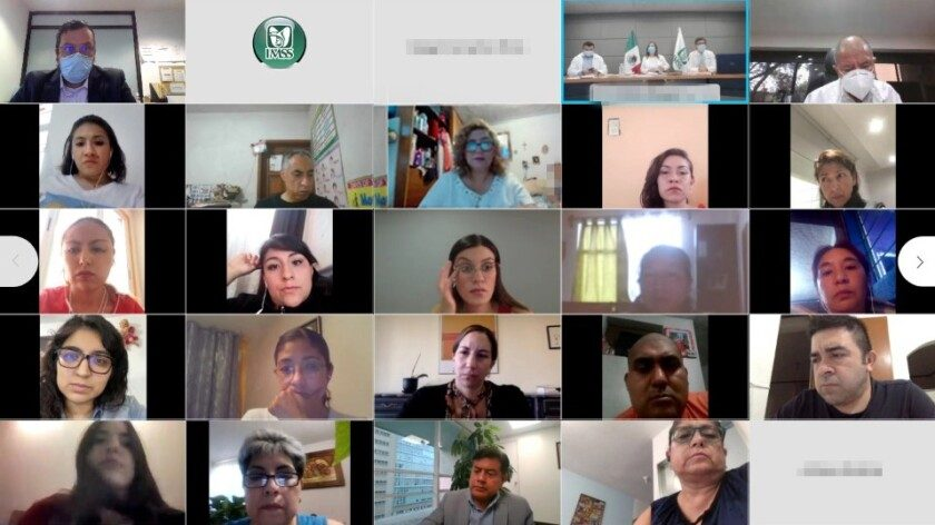 vigésima novena reunión entre autoridades del IMSS y representantes de padres de menores con cáncer atendidos en el Seguro Social