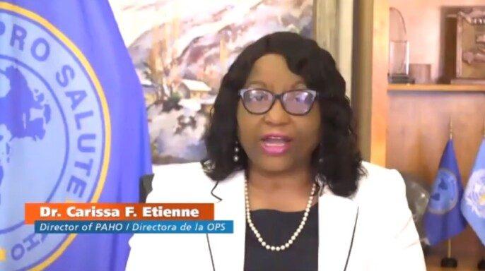 Doctora Carissa F. Etienne, Directora OPS/OMS