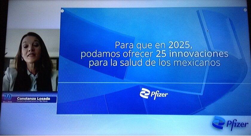 Constanza Losada, Presidenta y Directora General de Pfizer México