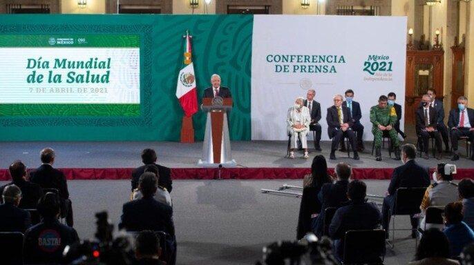 Conferencia de prensa del presidente Andrés Manuel López Obrador del 7 de abril de 2021