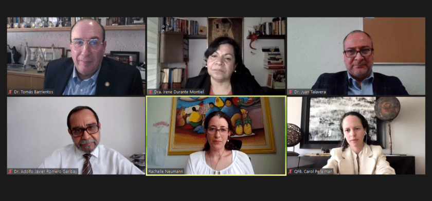 """Panel """"ATENCIÓN MÉDICA EN MÉXICO, PREPARANDO FUTURAS GENERACIONES DE PROFESIONALES DE LA SALUD"""""""