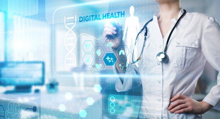 Tecnología moderna en salud, diagnóstico médico