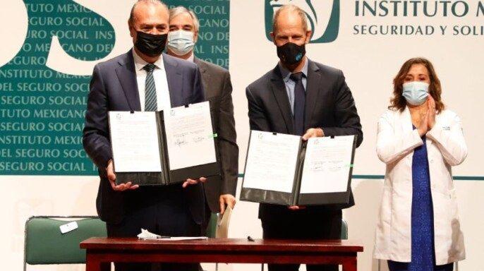 Firman IMSS y UNICEF Memorándum por una Infancia Libre de Obesidad en México