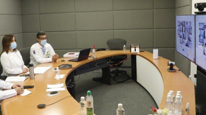 Trigésima séptima reunión entre autoridades del IMSS, madres y padres de pacientes pediátricos oncológicos