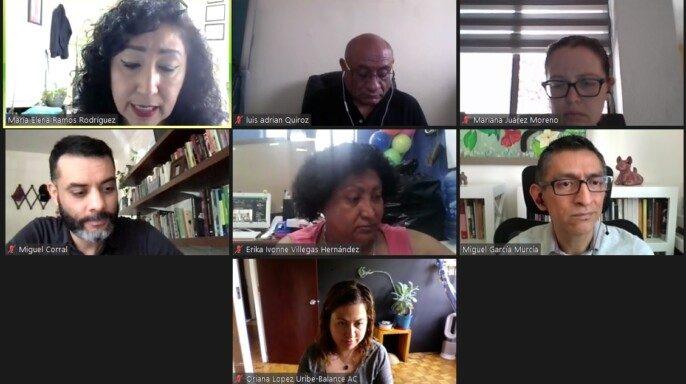 vocales de la sociedad civil del CONASIDA