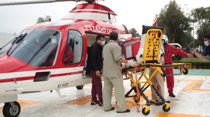 Personal del Grupo de Rescate Aéreo Relámpagos