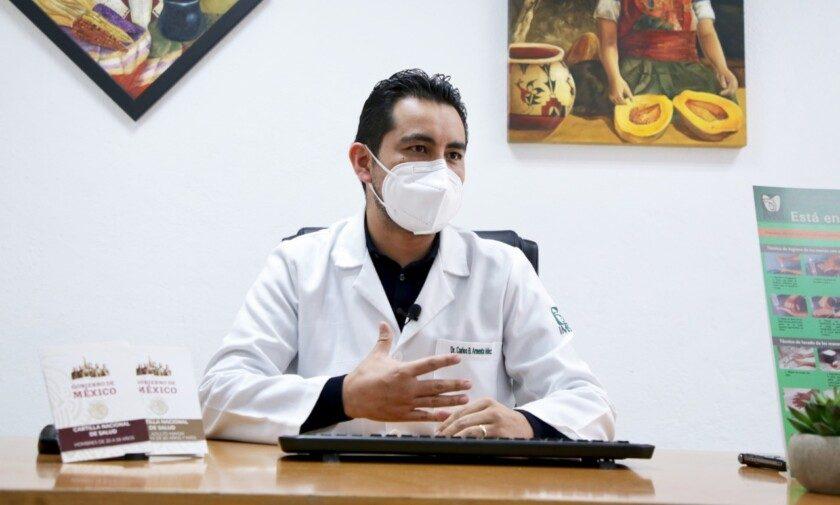 doctor Carlos Benito Armenta Hernández