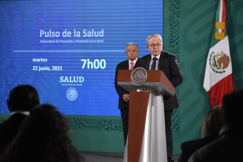 secretario de Salud, Jorge Alcocer Varela en Pulso de la Salud durante la conferencia de prensa matutina