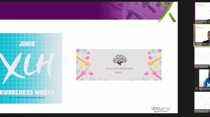 conferencia de prensa de Ultragenyx sobre la conmemoración del Día de la concientización sobre el raquitismo hipofosfatémico