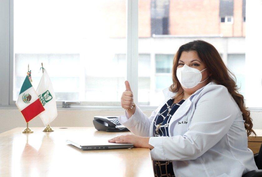 maestra Florencia Lizeth Vera Hernández, Coordinadora de Programas de Estomatología de la División de Medicina Familiar,