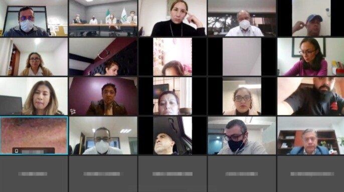 Cuadragésima sexta reunión del IMSS con madres y padres de pacientes pediátricos oncológicos en modalidad virtual,