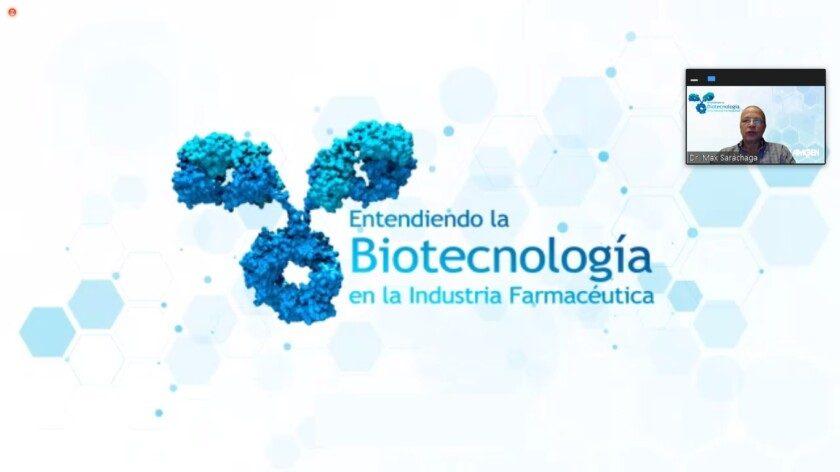 Taller Educativo Virtual: Entendiendo la biotecnología en la Industria Farmacéutica