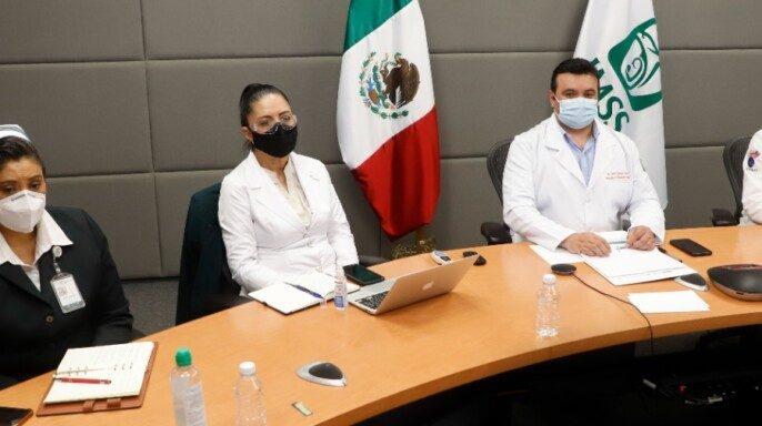 Cuadragésima octava reunión con las madres y los padres de pacientes pediátricos oncológicos del IMSS en modalidad virtual