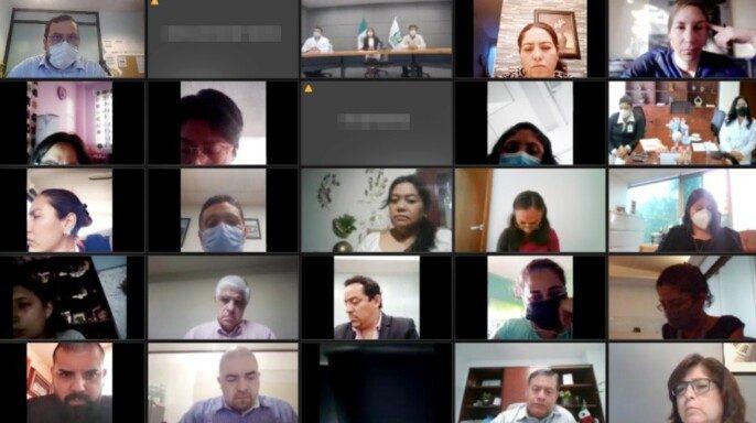 Cuadragésima novena reunión entre autoridades del Seguro Social y padres de menores con cáncer en modalidad virtual